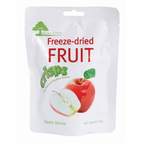 DELICIOUS FREEZE-DRIED APPLE SLICES 20G