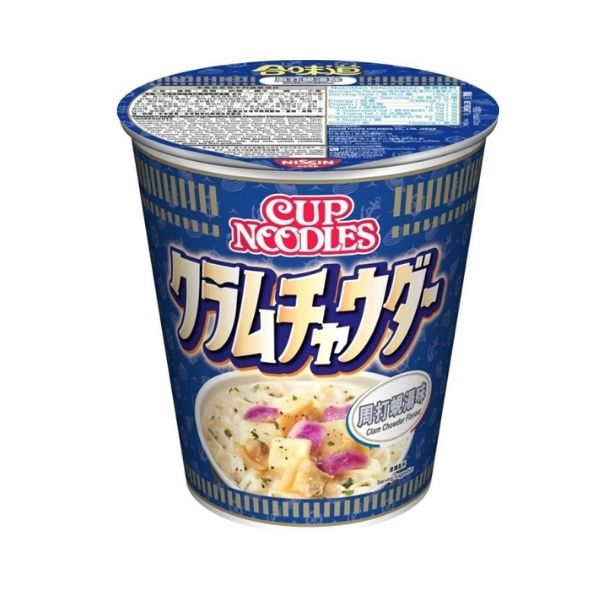 NISSIN CUP NOODLES-CLAM CHOWDER 75G