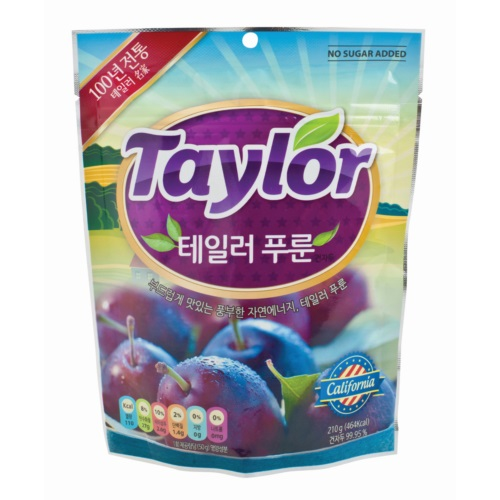 TAYLORCONVENT PITTED PRUNE210G