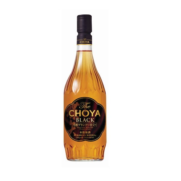 CHOYA THE BLACK BRANDY 720ML