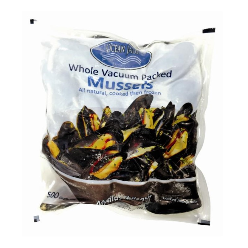 OCRAN JADE CHILE WHOLE BLUE MUSSEL 500G