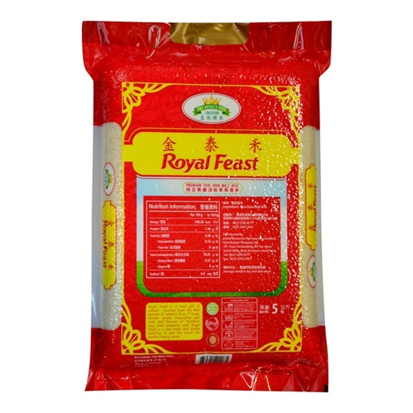 ROYAL FEAST PREMIUM THAI HOM MALI RICE 5KG