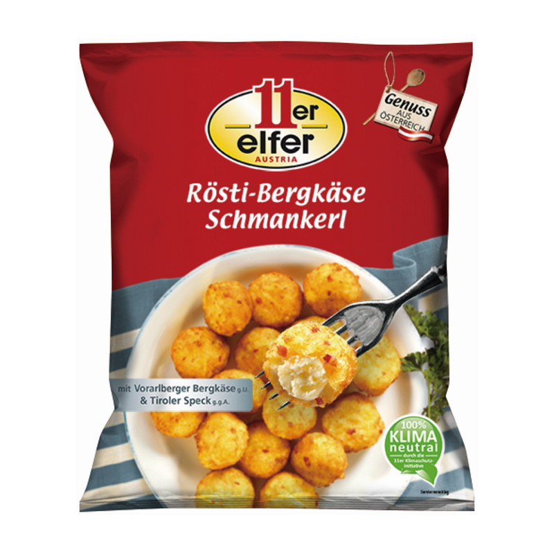 11ER ROSTI CHEESE SNACK 350G