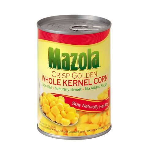 MAZOLA WHOLE KERNEL CORN 410G