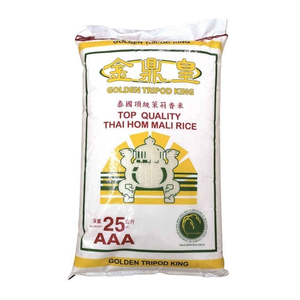 GOLDEN TPD KING THAI RICE 25KG