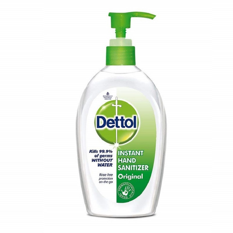 DETTOL HAND ALCOHOL SANITIZER 200ML