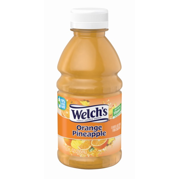 WELCHS ORANGE PINEAPPLE PET 10OZ