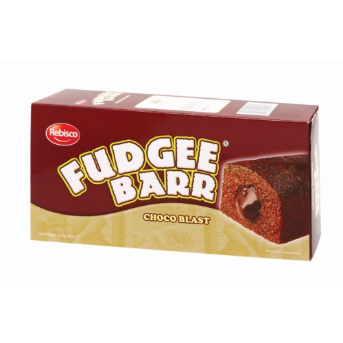 FUDGEE BARR CHOCOLATE FILLED CAKE 7P 210G