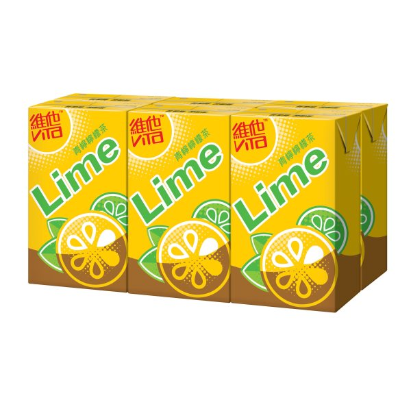 VITA LIME LEMON TEA DRINK 250ML6P