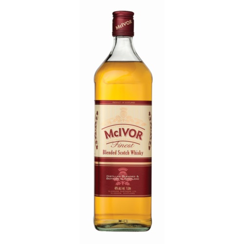 MCIVOR BLENDED SCOTCH WHISKY 1L