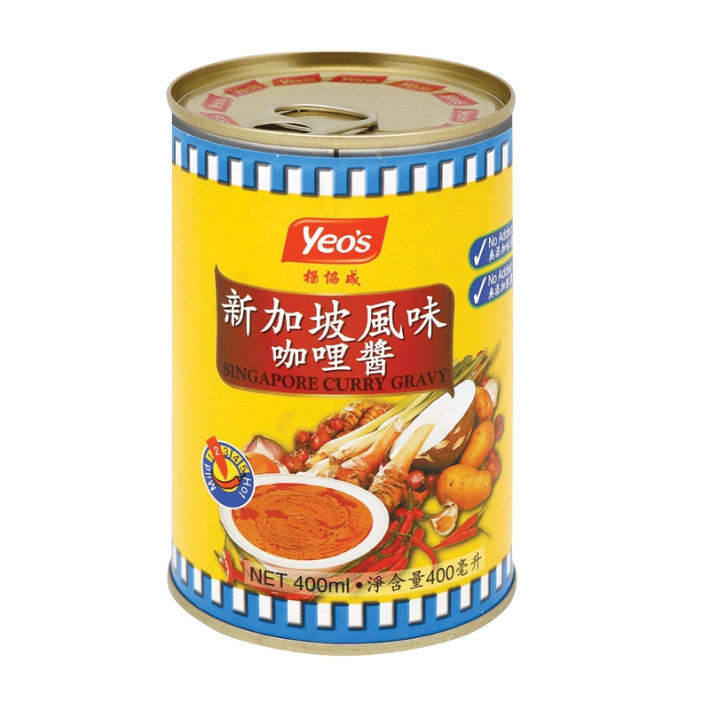 YEOS SINGAPORE CURRY GRAVY 400G