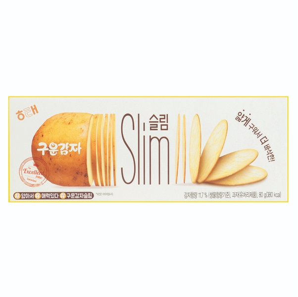 HAITAI ROASTED POTATO SLIM 80G