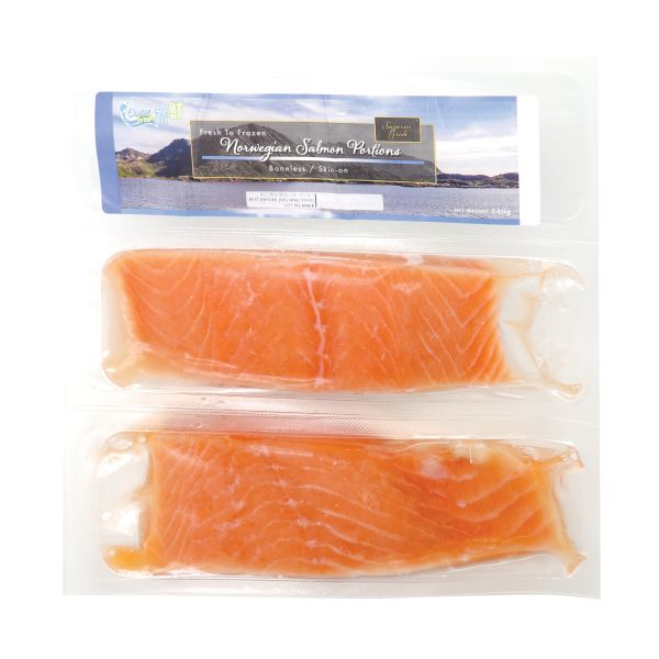 OF NORWAY SALMON PORTION 240G