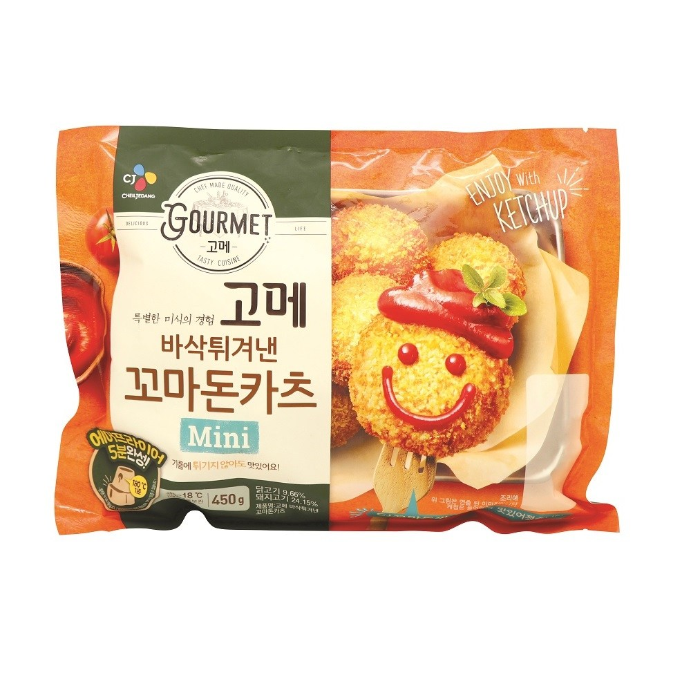 CJ LITTLE PORK CUTLET 450G