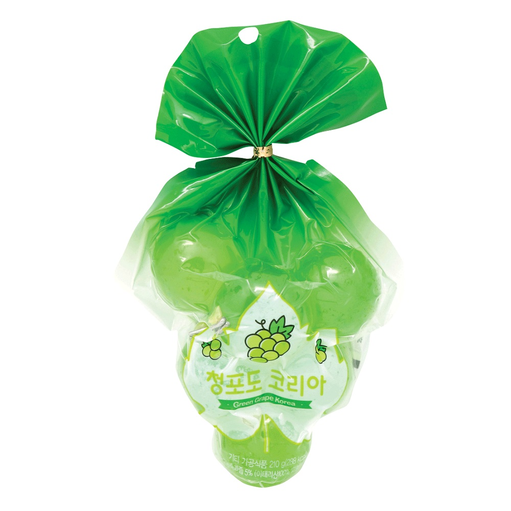 JELLY KYOHO GREEN GRAPE JELLY 210G