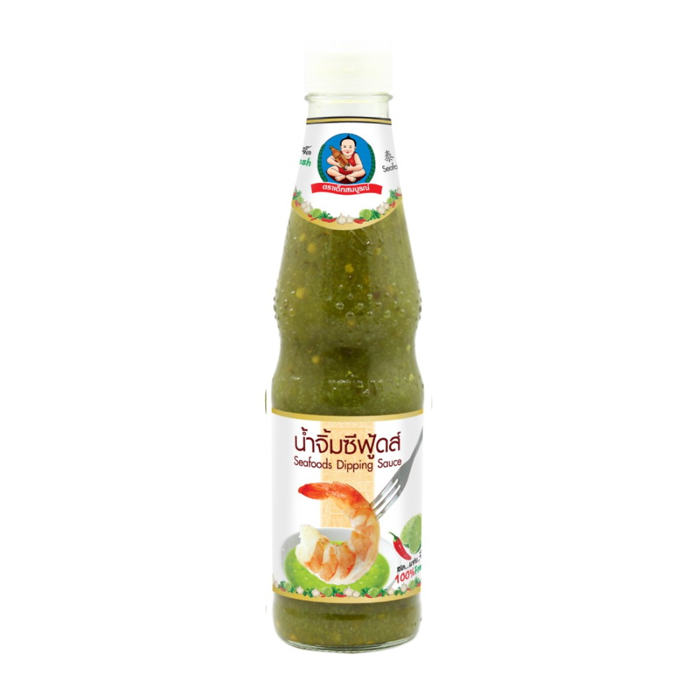 HEALTHY BOY BRAND GREEN CHILL AND LIME SAUCE 165G