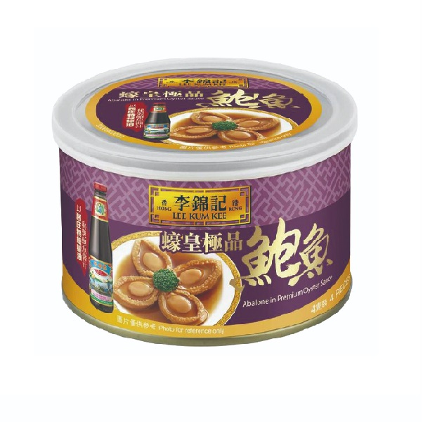 LEE KUM KEE ABALONE IN PREMIUM OYSTER SAUCE 180G