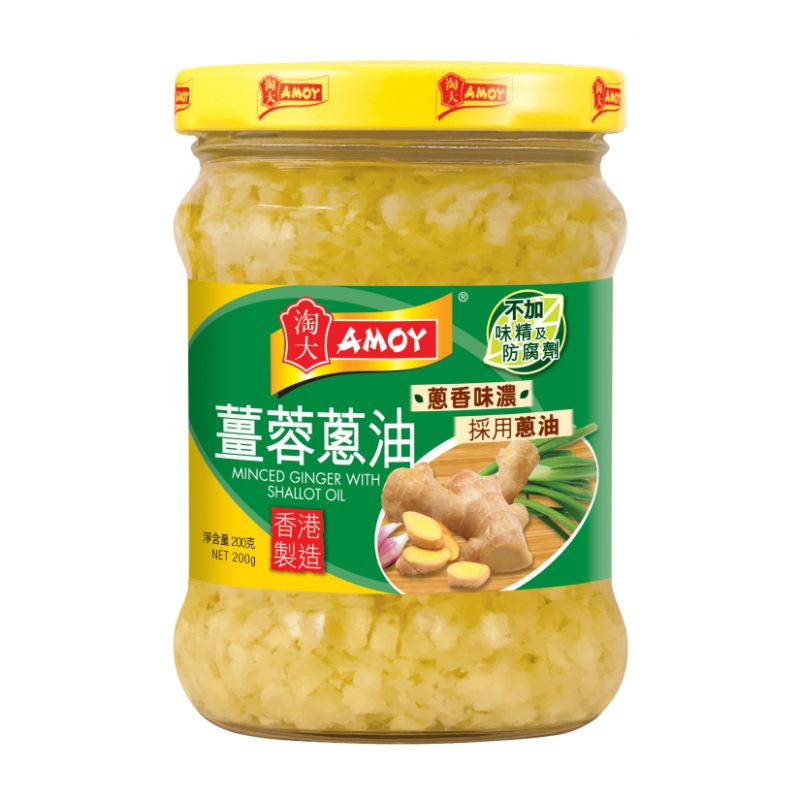 AMOY MINCED GINGER WITH SHALLOT OIL 200G