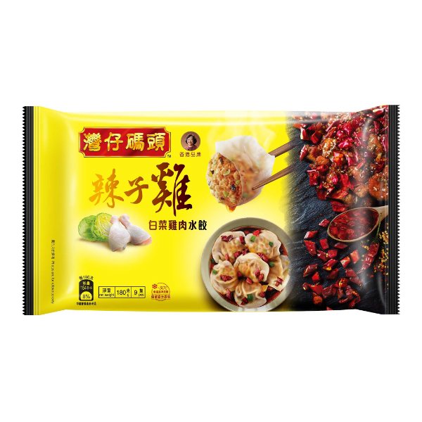 WCF CABBAGE & CHICKEN SPICY DP 180G