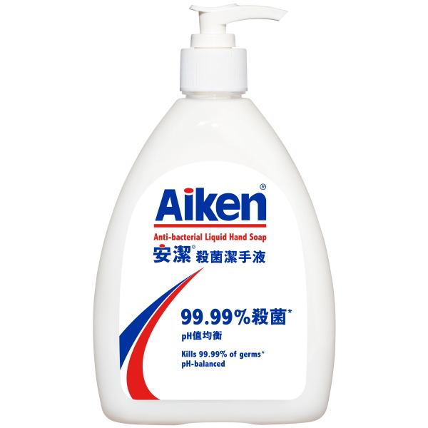 AIKEN ANTI-BACTERIAL LIQUID HAND SOAP 250ML