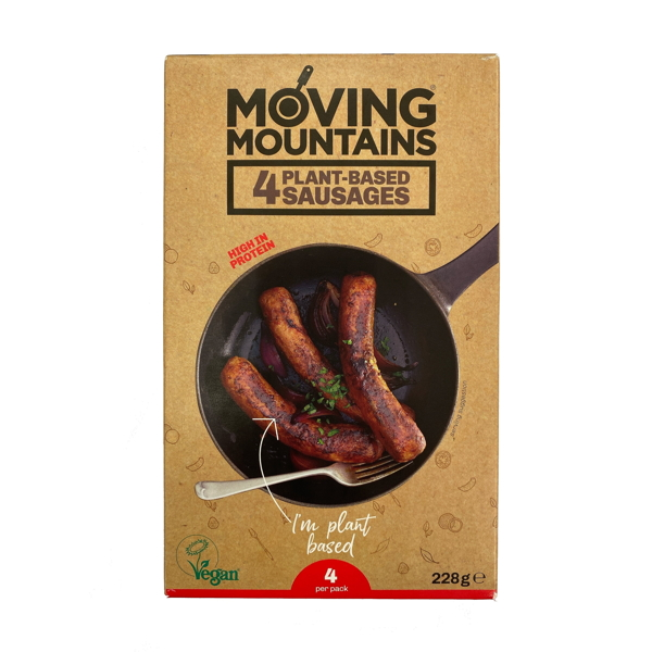 MM PLANT BASED SAUSAGES 228G