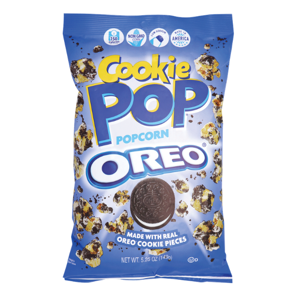 COOKIE POP POPCORN OREO 149G