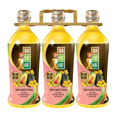 L & G AVOCADO CA OIL 1L X 3