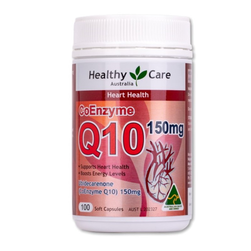 HEALTHY CARE - CoEnzyme Q10 150mg 100 Capsules
