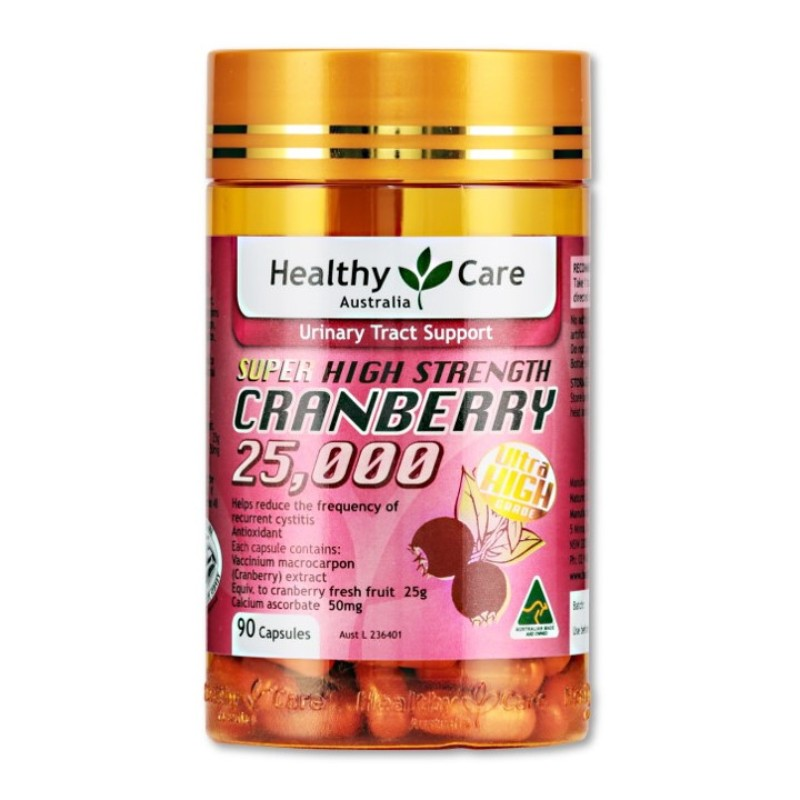 HEALTHY CARE - Cranberry 25000 90 Capsules