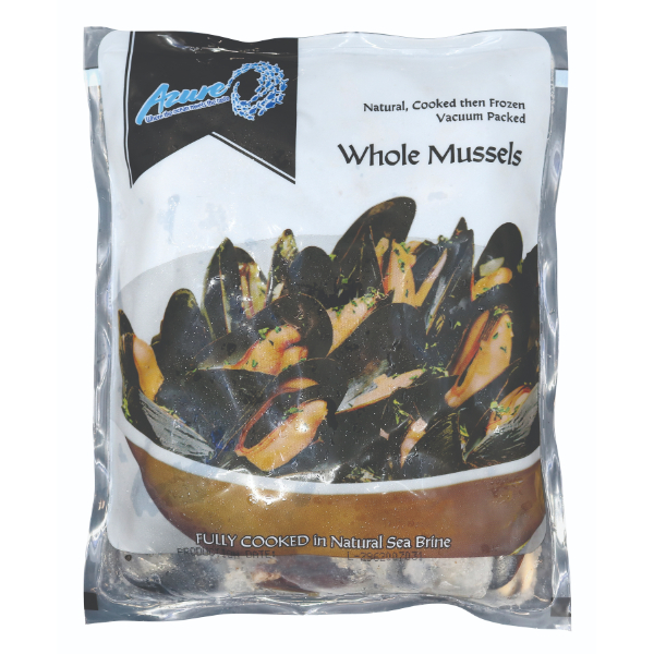 AZURE CHILE WHOLE BLUE MUSSEL 500G