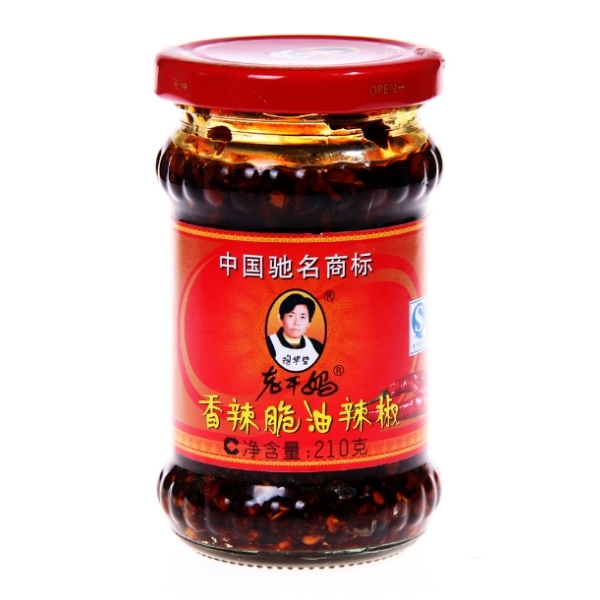 LAOGANMA(SPICY CRISPY OIL)CHILI OIL 210G
