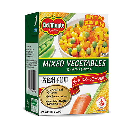 DEL MONTE MIXED VEGETABLE 380G