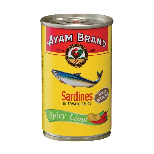 AYAM SPICY TOMATO LIME SARDINES 155G