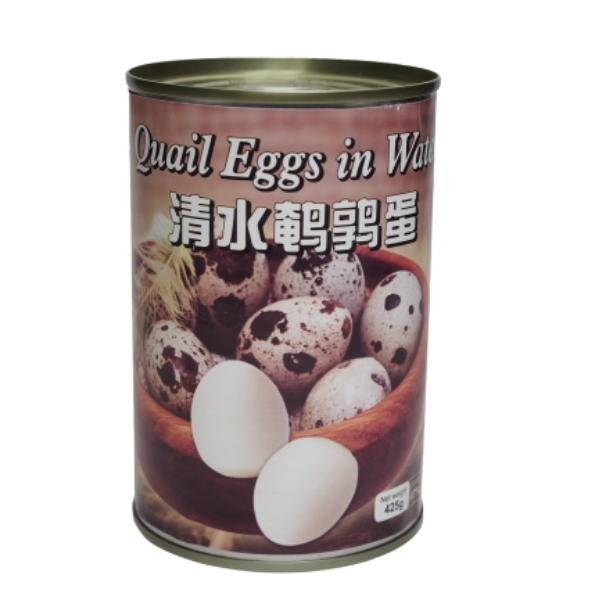 HS QUAIL EGGS IN WATER 425G