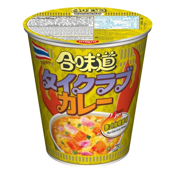 NISSIN CUP NOODLES -CRAB CURRY