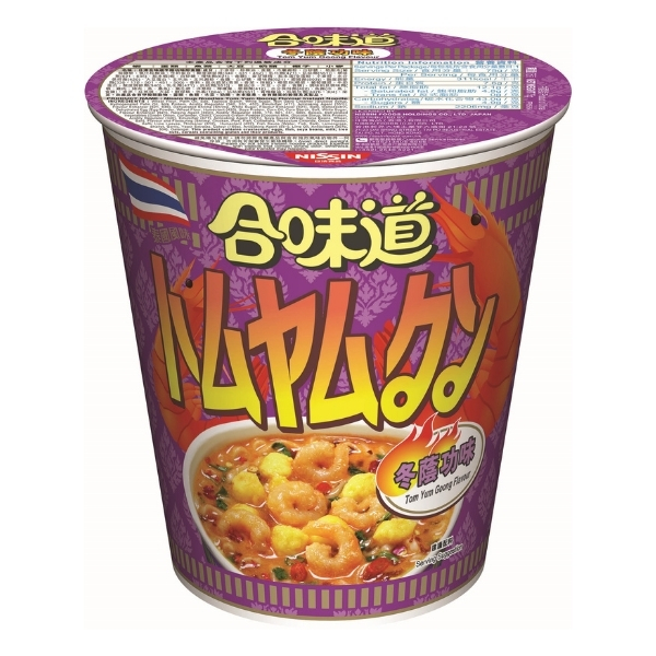 NISSIN CUP NOODLES TOM YUM