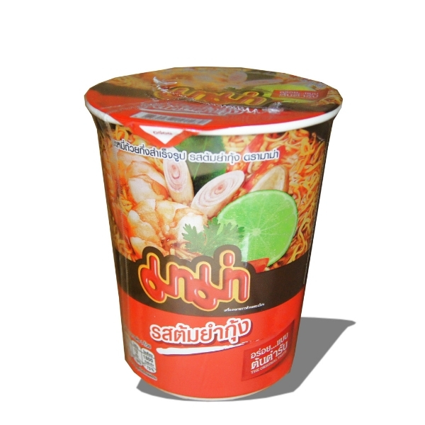 MAMA CREAMY TOM YUM CUP NDL 60G