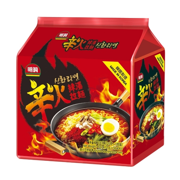 SUPER SPICY RAMEN 5 X 120G