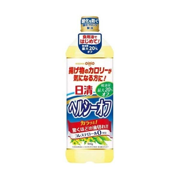 NISSIN - OILLIO HEALTHY OFF OIL 900G