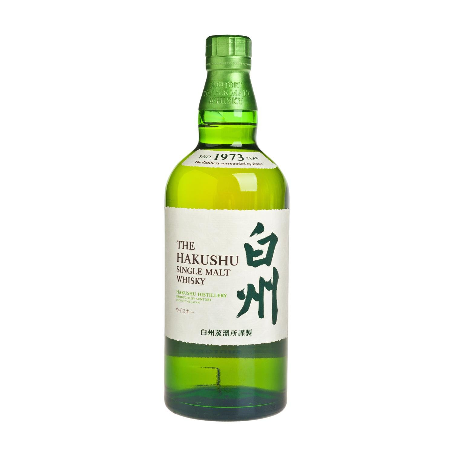 SUNTORY-HAKUSHU SINGLE MALT WHISKY 700ML