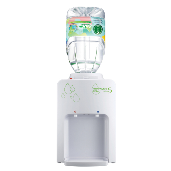 WATSONS WATER DISPENSER WITH DISTILLED WATER (WHITE) + 4.5L X4 SET