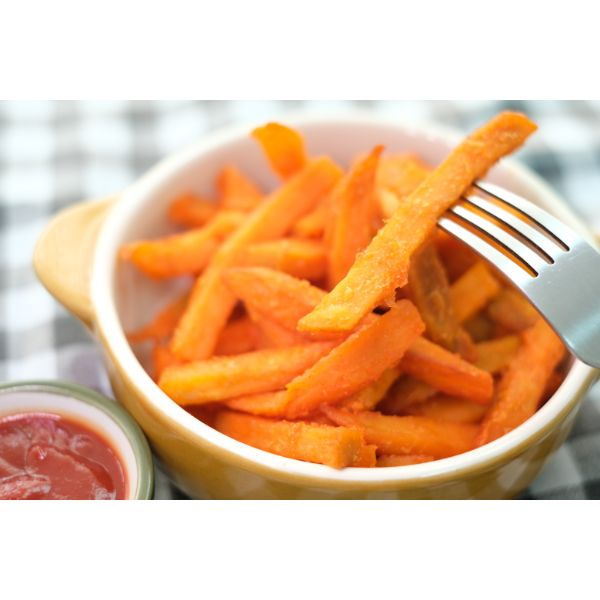 SWEET POTATO FRIES 500G