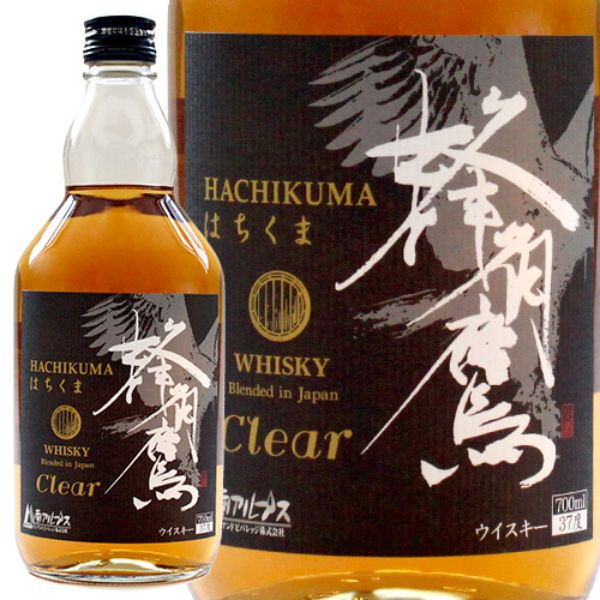 HACHIKUMA CLEAR BLENDED WHISKY 700ML