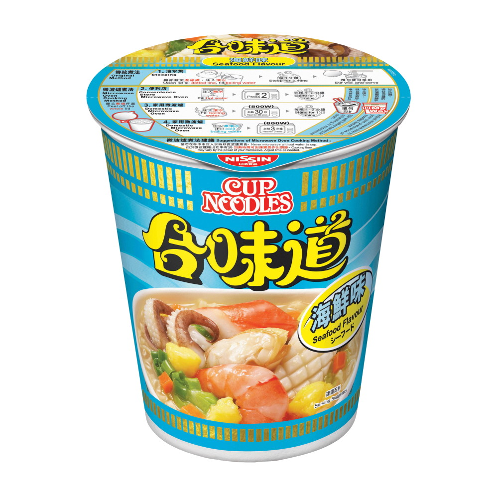 CUP NOODLE-SEAFOOD FLAVOUR 73G