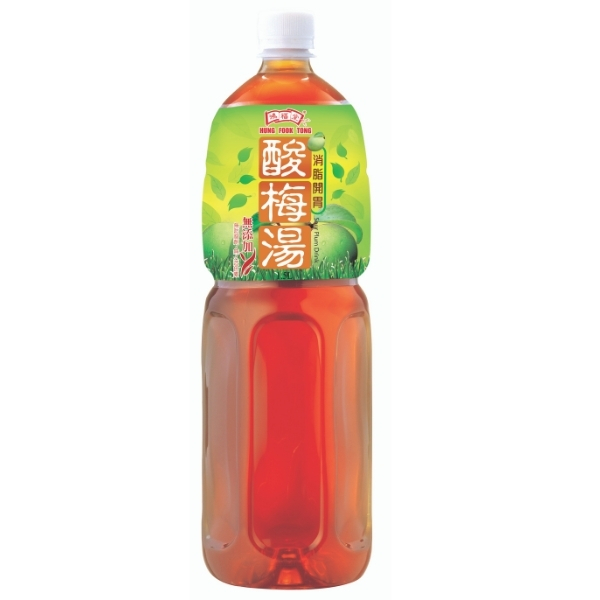 HUNG FOOK TONG SOUR PLUM DRINK 1.5L (CASE DEAL-9btls)