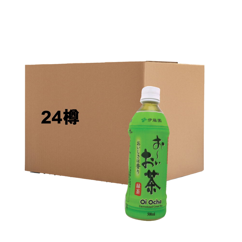 ITOEN GREEN TEA 500ML (CASE DEAL-24btls)