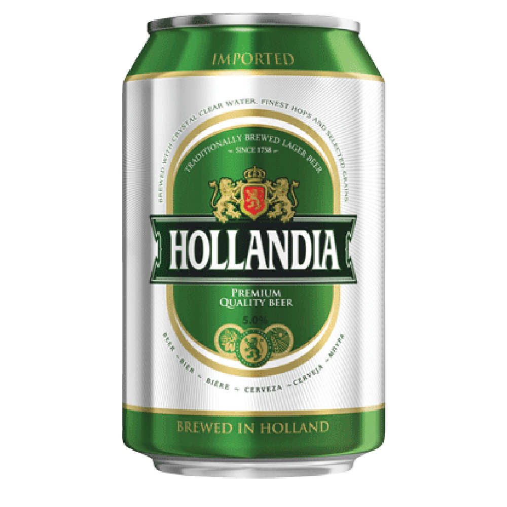 HOLLANDIA 330ML (4 Cans)