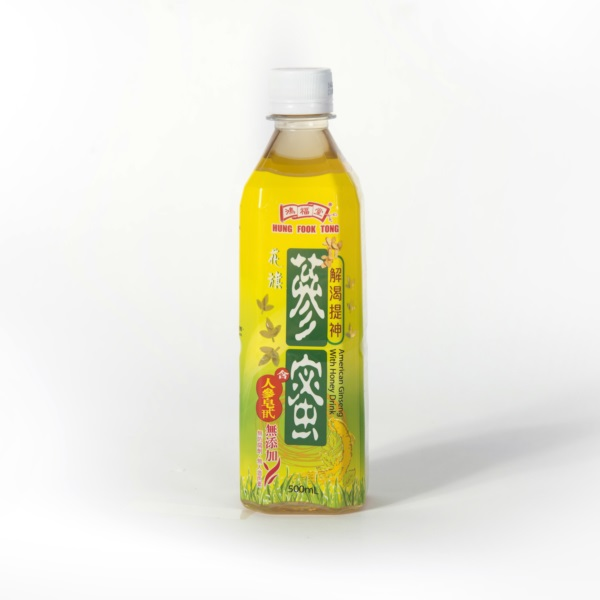 HFT GINSENG WITH HONEY 500ML (CASE DEAL)