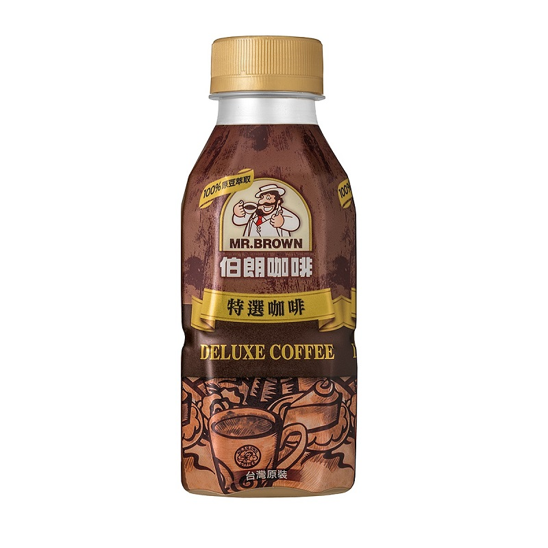 Mr. Brown Deluxe Coffee PET 330ml