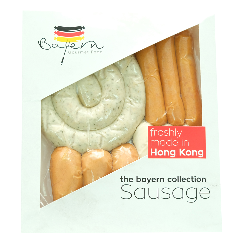 Bayern Gourmet Food 4 IN 1 Assorted Sausages